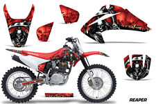 AMR Racing Honda CRF 150/230F Graphic Kit Decals Sticker Part 03-07 REAPER RED