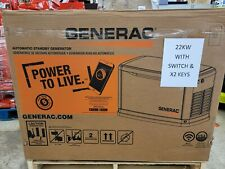 Generac 22kW Air Cooled Home Standby Generator WiFi w/Whole House 200 AmP SWITCH