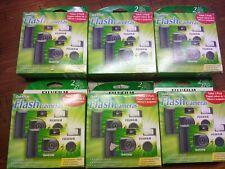 6 =Fujifilm Quicksnap Flash Cameras Single Use 27 Exposures  EXP 2020-07, 2 PACK