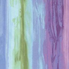 Harmony Hydrangea Blue Purple Stripe Cotton Quilt Fabric by Timeless Treasures