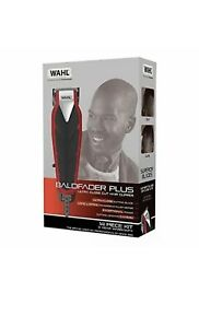 Wahl Baldfader Plus Mens Hair Clipper Kit, Heavy Duty Blades Smooth