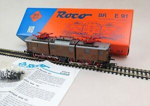 Roco 04139B E-Lok BR E91 der DRG / NEU / OVP / mit Zubehör