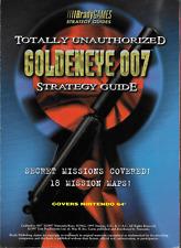 GoldenEye 007 Totally Unauthorized Strategy Guide Brady Games 1997, PB