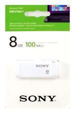 Pendrive bianco Sony da 8 GB
