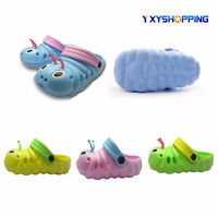 New Toddler Boys Girls Slip On Summer Clogs Beach Sandals Kids Casual Flat Shoes