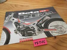 Beta Trial Rev-3 125 250  brochure catalogue moto prospectus publicité prospekt