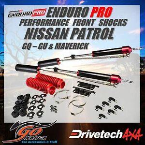 Drivetech 4x4 Enduro Pro Shocks pair DTEP005 fits Nissan Patrol Maverick GQ GU