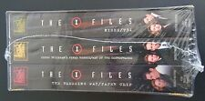 The X-Files Boxed Set - Vol. 5 (VHS, 1997, 3-Tape Set) NEW Free Shipping SEALED