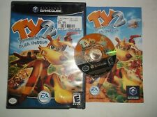 Ty the Tasmanian Tiger 2 Bush Rescue (Nintendo GameCube 2004) COMPLETE w/ Manual