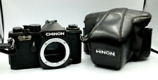 Vintage CHINON CE-3 MEMOTRON 35mm film SLR camera body only with case M42 mount