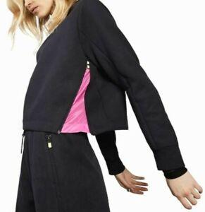 🔥 Nike Sportswear Tech Pack Fleece Crew Women's Size Large Black AR8801-080 🔥