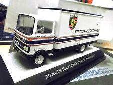 MERCEDES LKW LP608 Renn Service Porsche Rothman s Racing Premium Classixx  1:43