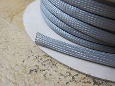 Kabelschlauch / Kabelstrumpf silber oder schwarz 15mm BANG&OLUFSEN