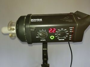 Bowens GM500R. Professional Radio Enabled Digital Studio Flash Head.