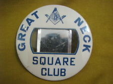 Great Neck Square Club Masonic Large Member Badge * Israel