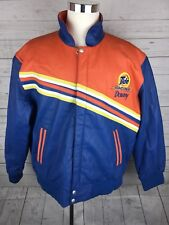 Jeff Hamilton Leather NASCAR TIDE /DOWNY RACING JACKET XL