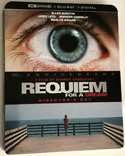 Requiem For A Dream 4K Ultra Hd + Blu-Ray + Digital Factory Sealed w/ Slipcover