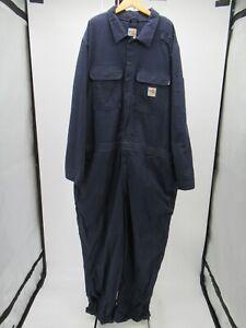 P3278 VTG Men's Carhartt Fire Resistant Twill Work Coveralls Size 54