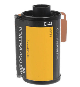 2  x Kodak PORTRA 400 ISO 35mm 135 36exp 135-36 Pro Color Negative Film