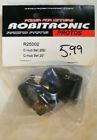 ROBITRONIC #R25002 C-HUB SET 20° FITS: ROBITRONIC PROTOS 1/8 BUGGY