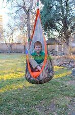 Woodland Sky Chair Hammock Tree Swing Indoor Outdoor Cubbyhouse Playground Relax