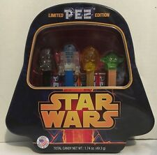 STAR WARS Darth Vader Limited Edition Pez Dispenser 4 pack