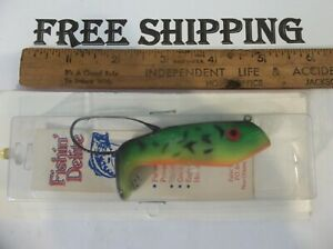 DISCONTINUED FISHIN' DELITE Weedless Lipless Crankbait 3/4 OUNCE FISHING LURE