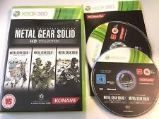* Xbox 360 Game * METAL GEAR SOLID HD COLLECTION