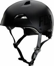 Fox Racing Flight Helmet: Matte Black LG