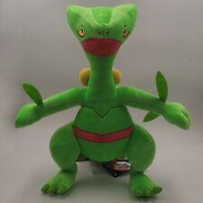 "Pokemon Sceptile Plush Doll Soft Toy Teddy Stuffed Animal NWT 13"""