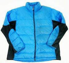 The North Face Mens Blue Extreme Active Hiking Puffer Quilted Winter Coat Sz XXL