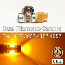 T25 3155 3157 3457 4157 SRCK 21 SMD LED Amber Rear Signal M1 For Dodge AR