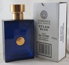 jlim410: Versace Pour Homme Dylan Blue for Men, 100ml EDT TESTER Free Shipping
