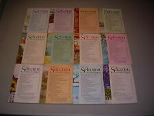 #23 Lot of all 12 months Sélection du Reader's Digest Complete Year 1976