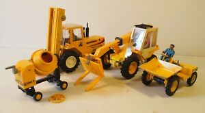 4x Britain's Construction Vehicles, well-used, for spares or repair