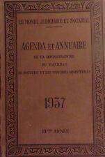 AGENDA & ANNUAIRE de la Magistrature, du Barreau, du Notariat, etc. - 1937