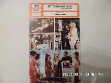 CARTE FICHE CINEMA 1966 NOTRE HOMME FLINT James Coburn Lee J Cobb Gila Golan