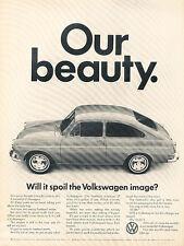 1967 Volkswagen VW Fastback - Beauty - Classic Vintage Advertisement Ad D194