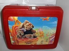 Wrinkles`1984`Ganz Bros Toys-Lic By UFS Inc`Plastic Lunchbox->Nice->Free To US