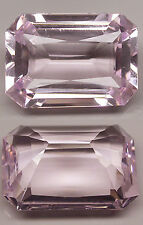 17,10 ct Light Pink Sapphire - Octagonal cut - IF - Brazil - Amazing Size !