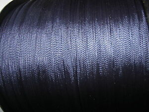 3 metres Navy Blue Military style Braid 5mm - vintage French rayon gimp