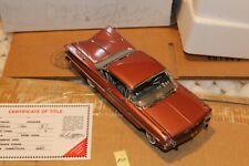 F10 Danbury Mint 1959 Chevrolet Impala Sport Coupe 1:24 Cameo Coral LE2650/5000