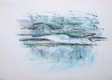 Elspeth Buchanan (1915-2011) Mountainous landscape. Abstract. Modern, British.