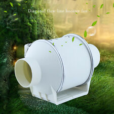 3 Inch Inline Duct Hydroponic Air Blower Ventilation System Exhaust Vent Fan
