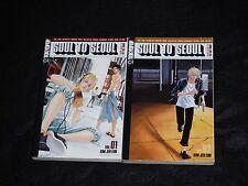 Soul to Seoul Vol. 1-2 manga lot, dark shoujo