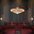 Retro Welcome to Fabulous Las Vegas Nevada Bar Beer Neon Light  Metal Sign US