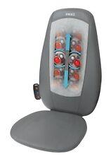 Homedics SBM-180H Shiatsu Back Massager Chair Relaxing With Heat 3 Massage Zones