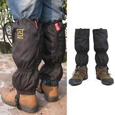 Waterproof Outdoor Climbing Hiking Snow Ski Gaiters Leg Cover Boot Legging Wrap