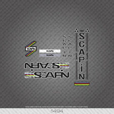 01494 Scapin Bicycle Stickers - Decals - Transfers - Black With White Keyline