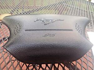 ✅ 96-99 FORD MUSTANG STEERING WHEEL LEFT DRIVER SIDE AIR OEM BAG AlRBAG  BLACK